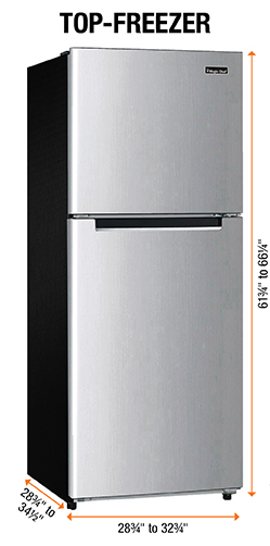 Çift Kapılı buzdolabı ölçüler nasıl