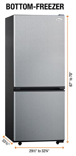 Bottom Freezer kombi tipi buzdolabı ölçüler tavsiyeler yorumlar