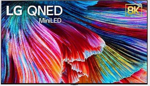 LG QNED mini LED akıllı android televizyon